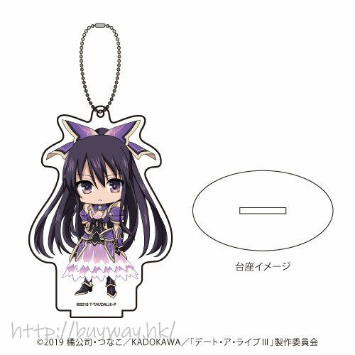 約會大作戰 「夜刀神十香」亞克力企牌 / 匙扣 Acrylic Stand Key Chain 01 Yatogami Tohka (Mini Character)【Date A Live】