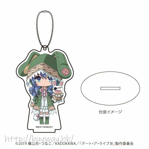 約會大作戰 「四糸乃」亞克力企牌 / 匙扣 Acrylic Stand Key Chain 02 Yoshino (Mini Character)【Date A Live】