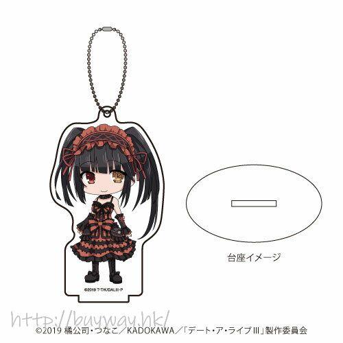 約會大作戰 「時崎狂三」亞克力企牌 / 匙扣 Acrylic Stand Key Chain 03 Tokisaki Kurumi (Mini Character)【Date A Live】