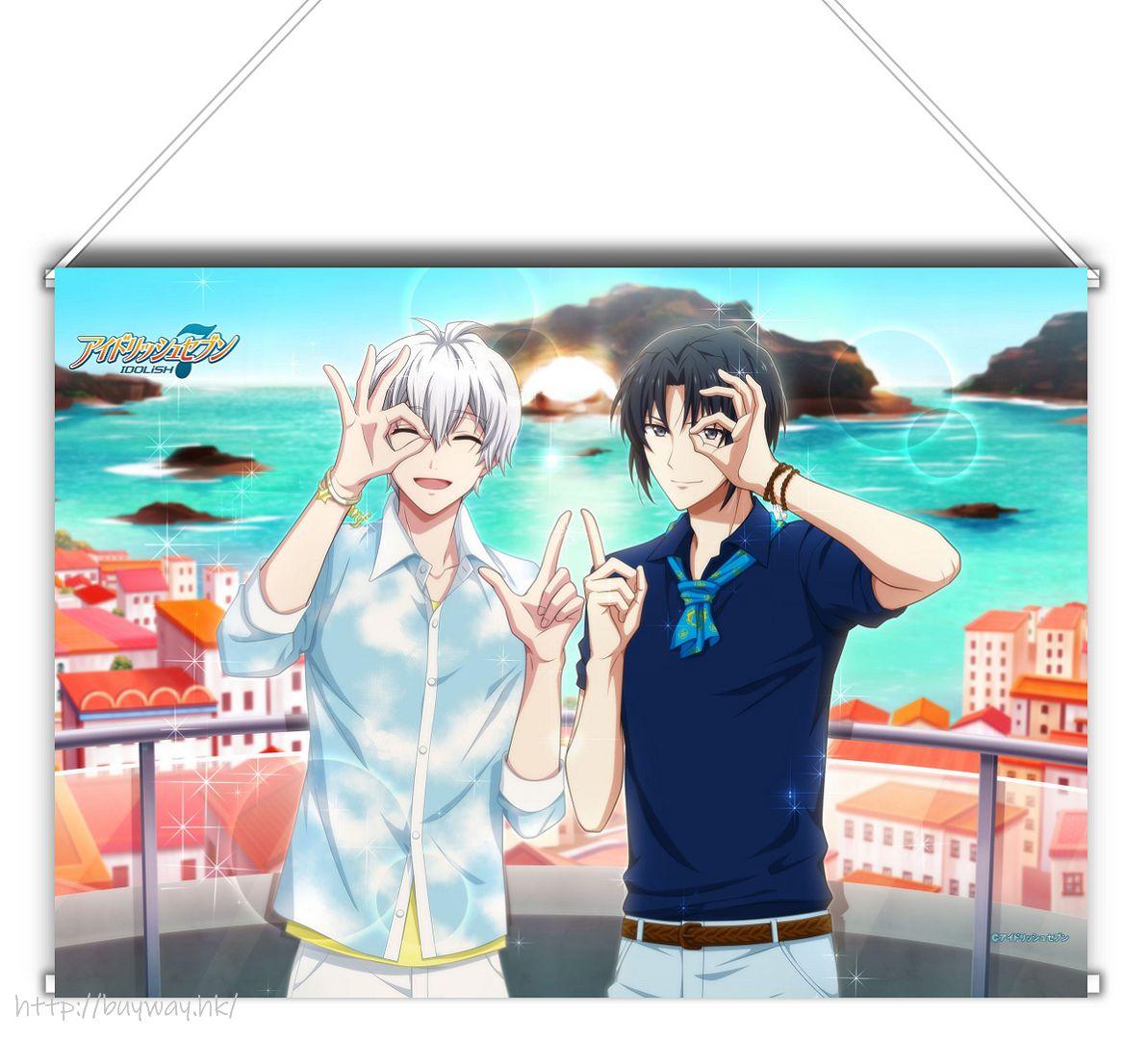 IDOLiSH7 「逢坂壯五 + 和泉一織」Shuffle Talk2 B3 掛布