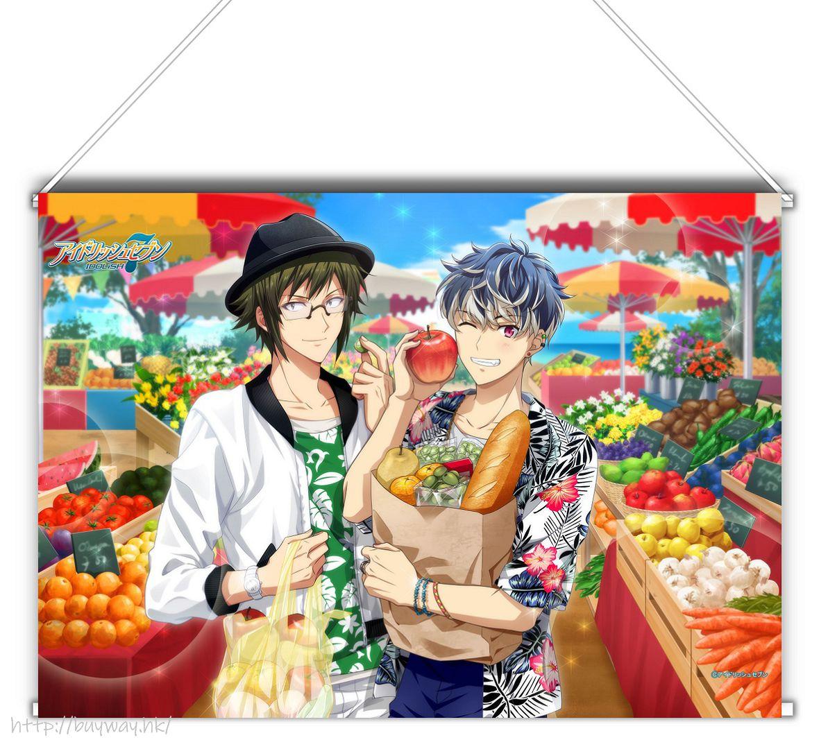 IDOLiSH7 「大和 + 百」Shuffle Talk2 B3 掛布 Shuffle Talk 2 B3 Tapestry Yamato & Momo【IDOLiSH7】