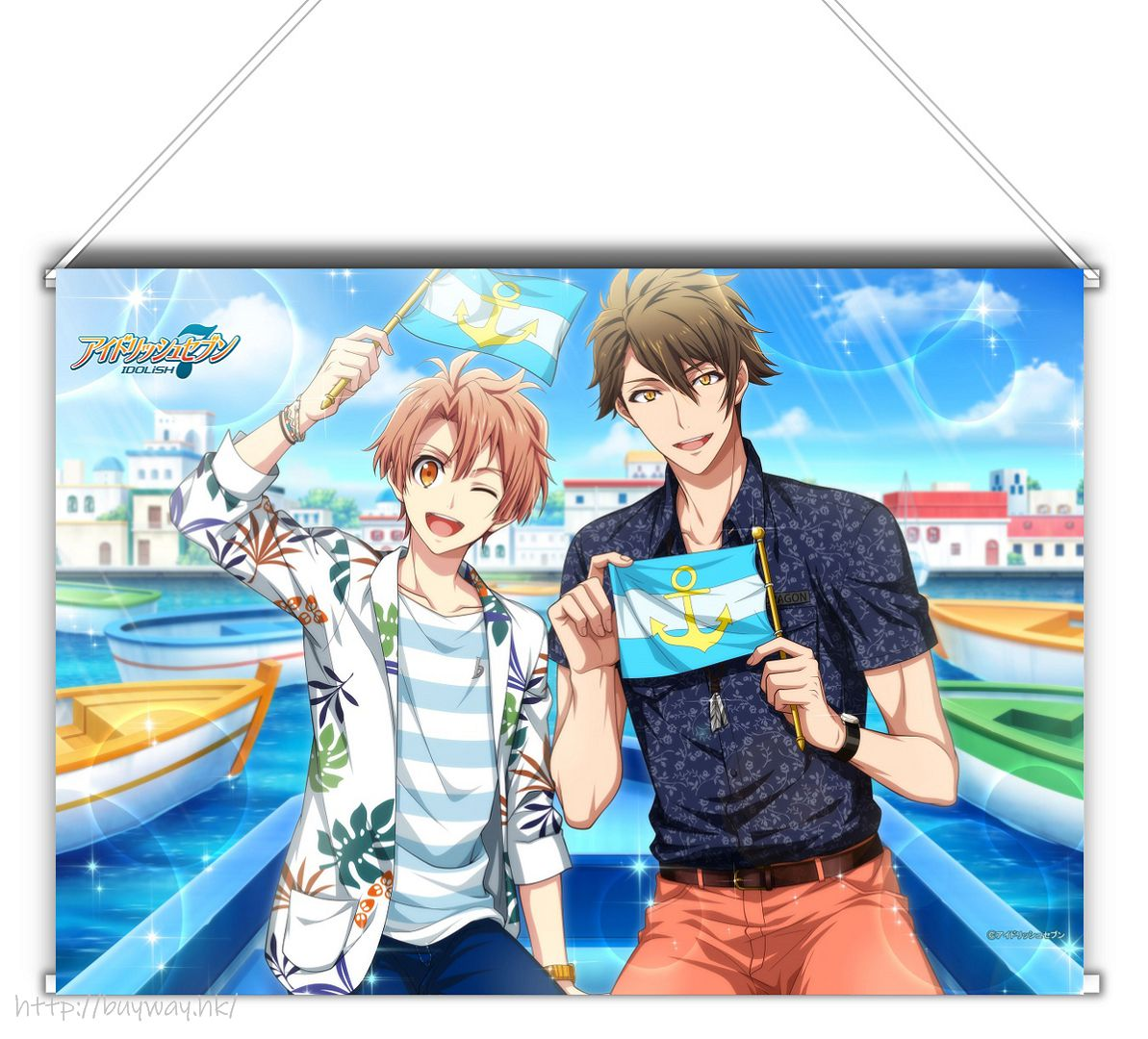IDOLiSH7 「和泉三月 + 十龍之介」Shuffle Talk2 B3 掛布 Shuffle Talk 2 B3 Tapestry Mitsuki & Ryunosuke【IDOLiSH7】