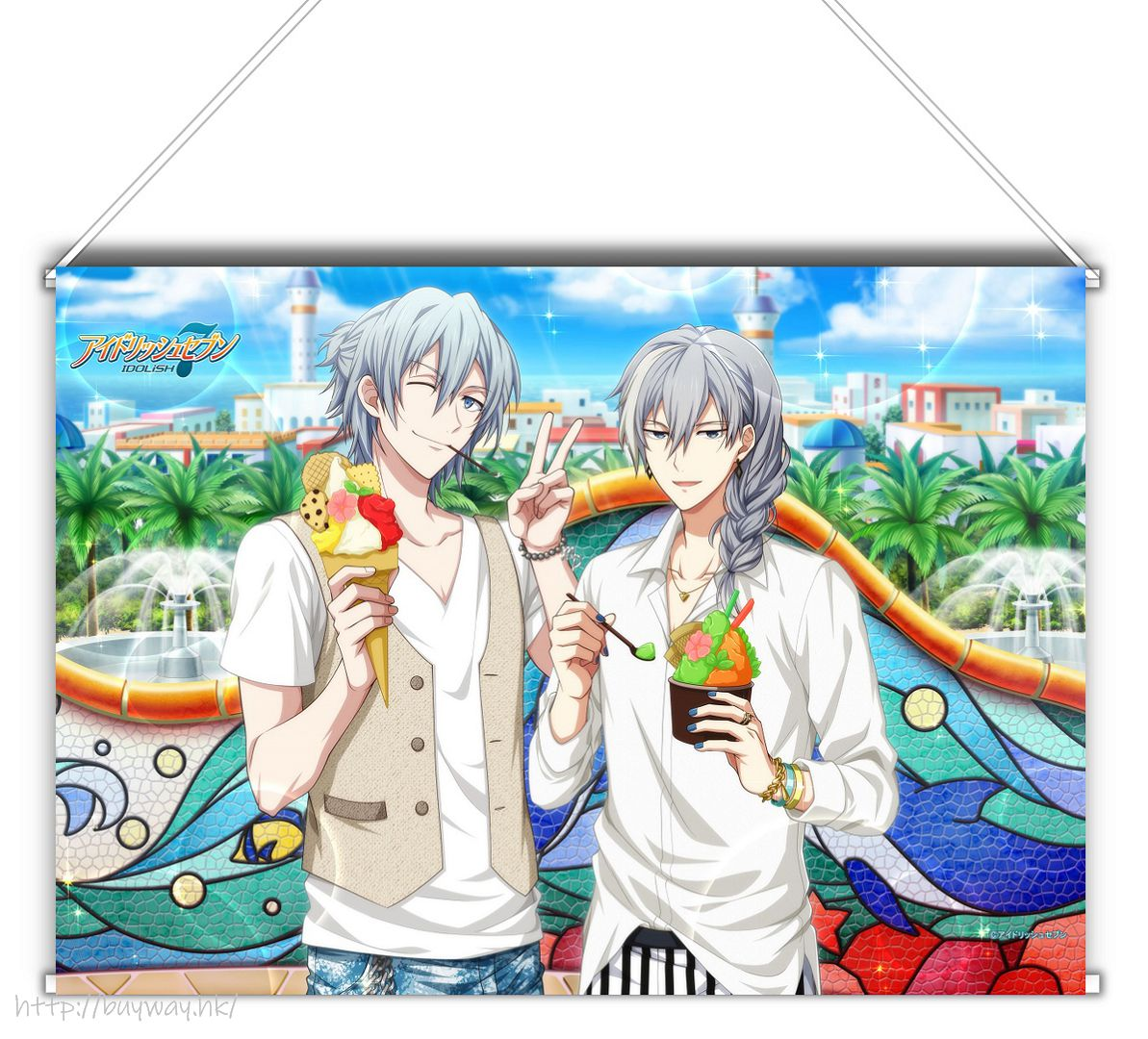 IDOLiSH7 「四葉環 + 千」Shuffle Talk2 B3 掛布