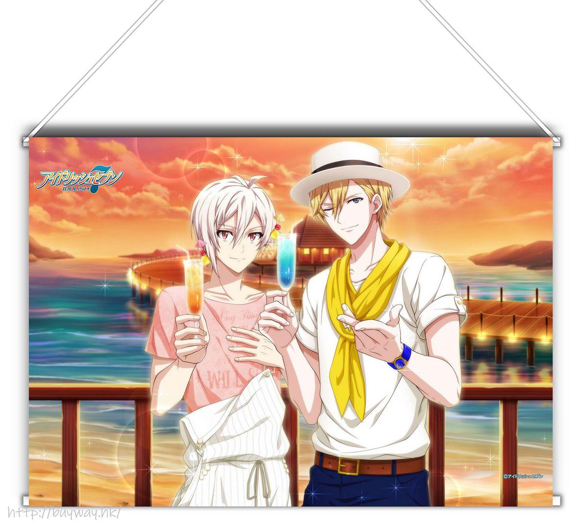 IDOLiSH7 「九條天 + 六弥ナギ」Shuffle Talk2 B3 掛布