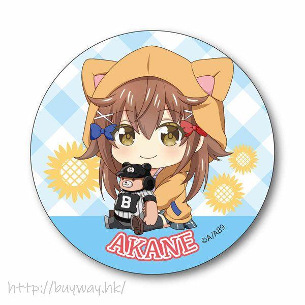 八月的棒球甜心 「宇喜多茜」收藏徽章 Gyugyutto Can Badge Akane Ukita【Hachigatsu no Cinderella Nine】