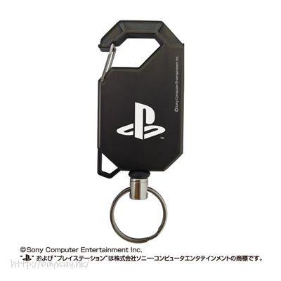 PlayStation 伸縮匙扣 Family Mark - Reel Keychain【PlayStation】