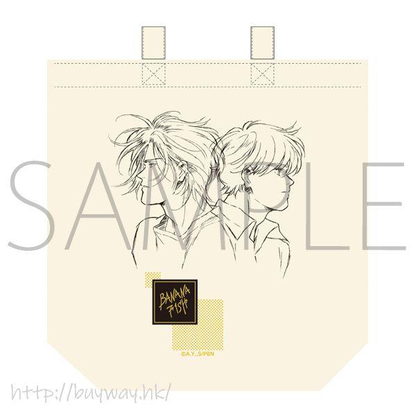 Banana Fish 「亞修・林克斯 + 奧村英二」放送記念原畫展覧會 布袋 Ash Lynx & Okumura Eiji Tote Bag【Banana Fish】