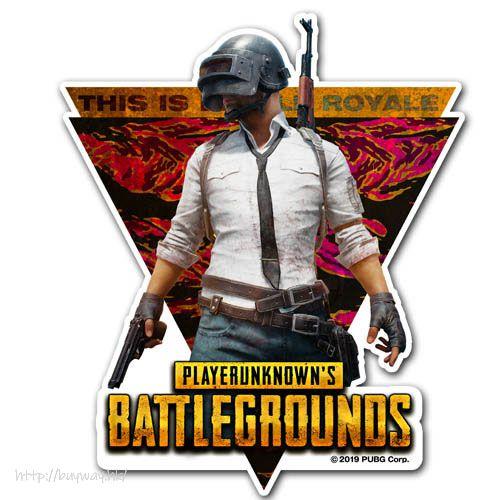 絕地求生 「PUBG」防水貼紙 PUBG Waterproof Sticker【PlayerUnknown's Battlegrounds】