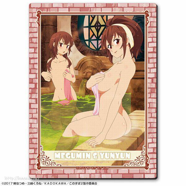 為美好的世界獻上祝福! 「惠惠 + 芸芸」橡膠滑鼠墊 Rubber Mouse Pad Design 02 (Megumin & Yunyun)【KonoSuba: God's Blessing on This Wonderful World!】