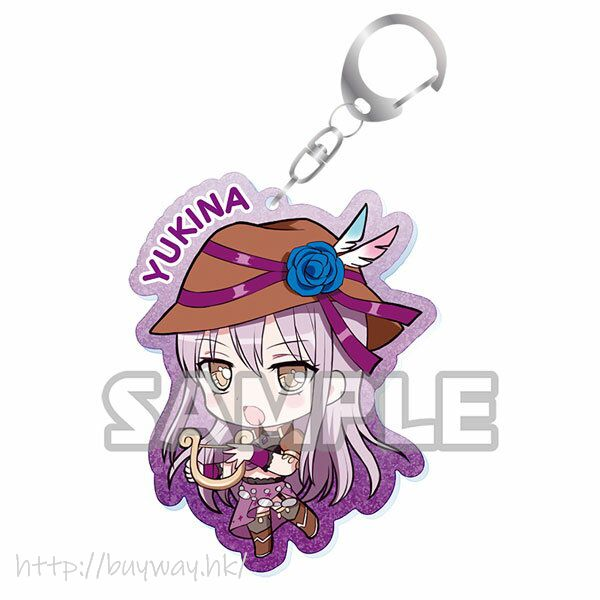 BanG Dream! 「湊友希那」Event Ver. 亞克力匙扣 Kiratto Acrylic Keychain Event ver. Yukina Minato【BanG Dream!】