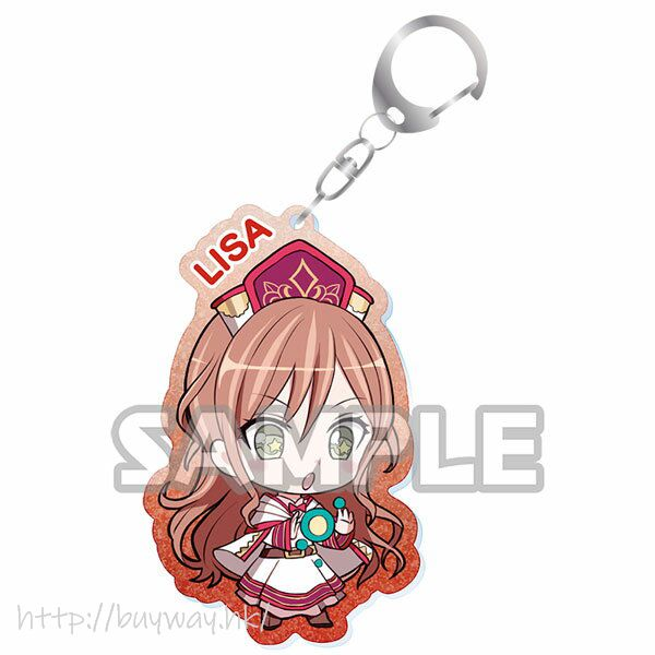 BanG Dream! 「今井莉莎」Event Ver. 亞克力匙扣 Kiratto Acrylic Keychain Event ver. Lisa Imai【BanG Dream!】