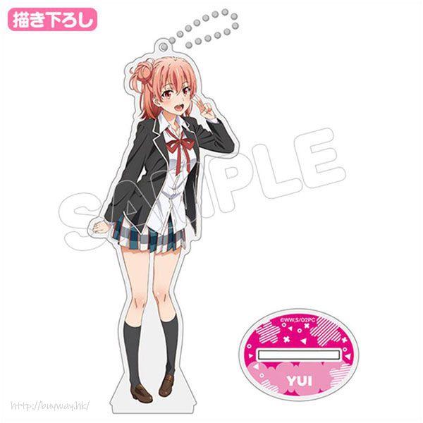 果然我的青春戀愛喜劇搞錯了。 「由比濱結衣」(S Size) 校服 Ver. 亞克力企牌 New Illustration Acrylic Figure S Yui Yuigahama Uniform Ver【My youth romantic comedy is wrong as I expected.】