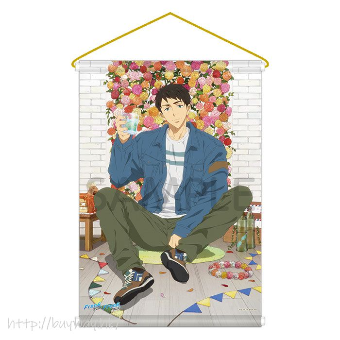 Free! 熱血自由式 「山崎宗介」掛布 Link up Smile! BD Tapestry Link up Smile! BD Sosuke Yamazaki【Free!】