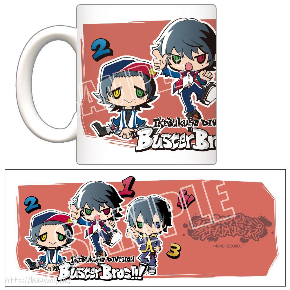 催眠麥克風 -Division Rap Battle- 「Buster Bros!!!」Hypmi Sanrio Remix 陶瓷杯