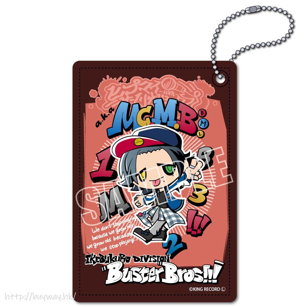 催眠麥克風 -Division Rap Battle- 「山田二郎」Hypmi Sanrio Remix 皮革 證件套 Hypmi Sanrio Remix Leather Pass Case Yamada Jiro【Hypnosismic】