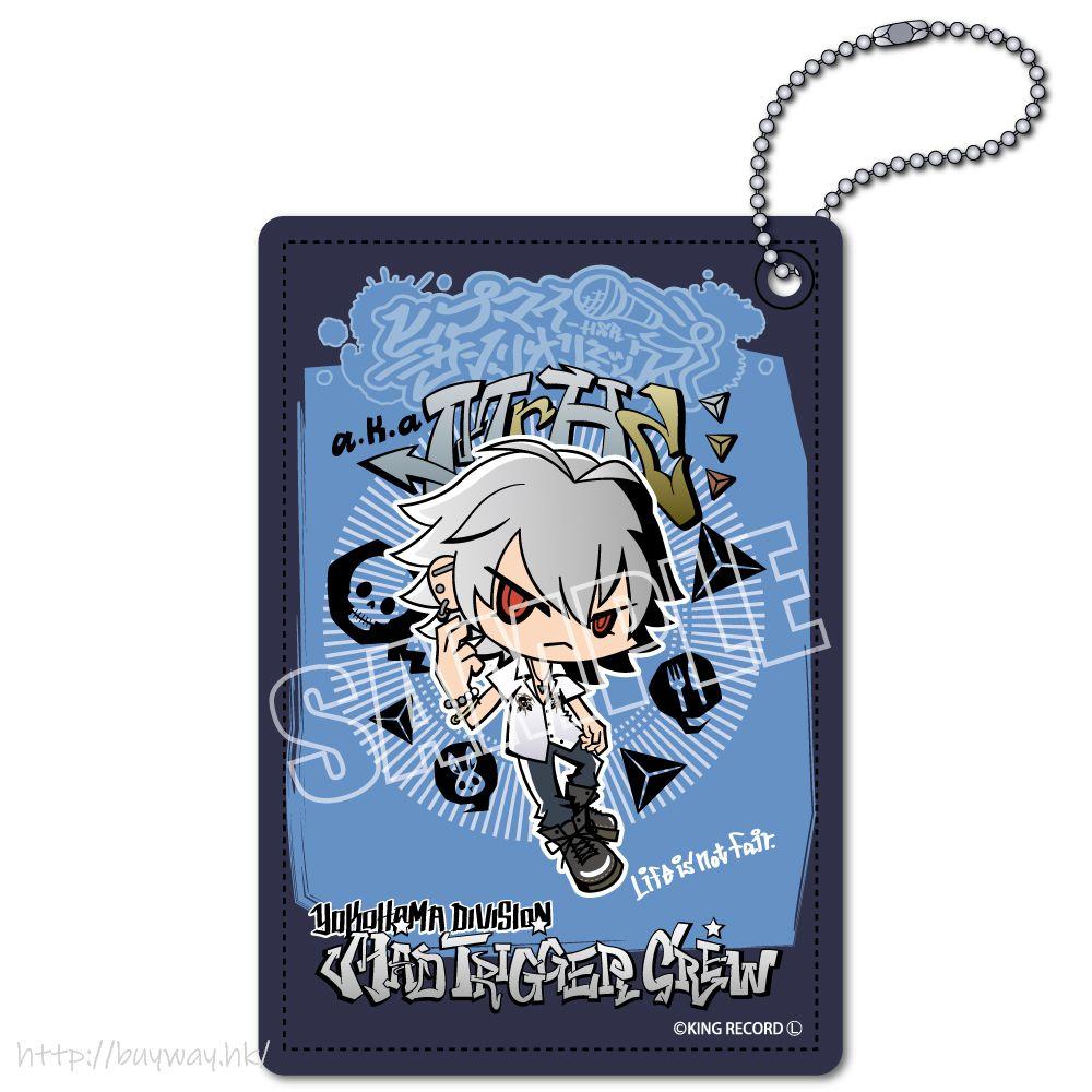 催眠麥克風 -Division Rap Battle- 「碧棺左馬刻」Hypmi Sanrio Remix 皮革 證件套 Hypmi Sanrio Remix Leather Pass Case Aohitsugi Samatoki【Hypnosismic】