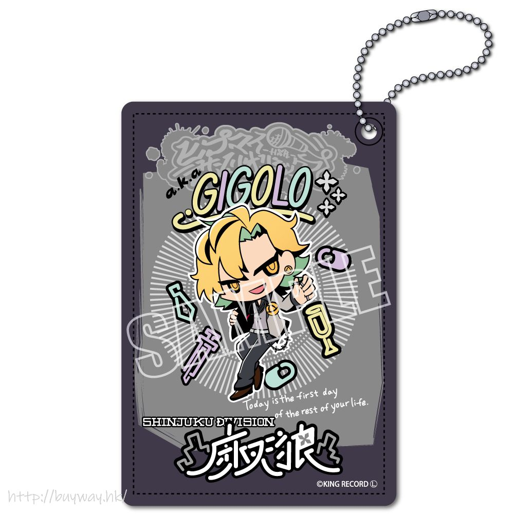 催眠麥克風 -Division Rap Battle- 「伊弉冉一二三」Hypmi Sanrio Remix 皮革 證件套 Hypmi Sanrio Remix Leather Pass Case Izanami Hifumi【Hypnosismic】