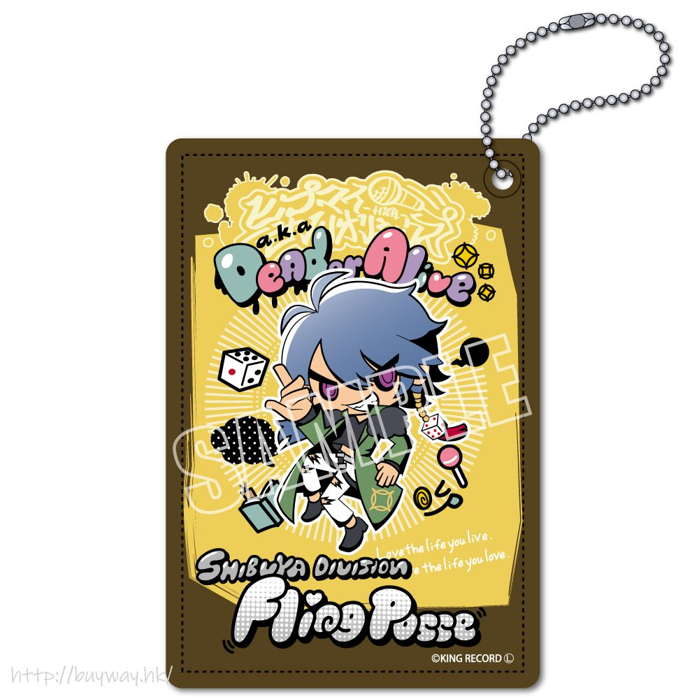 催眠麥克風 -Division Rap Battle- 「有栖川帝統」Hypmi Sanrio Remix 皮革 證件套 Hypmi Sanrio Remix Leather Pass Case Arisugawa Dice【Hypnosismic】