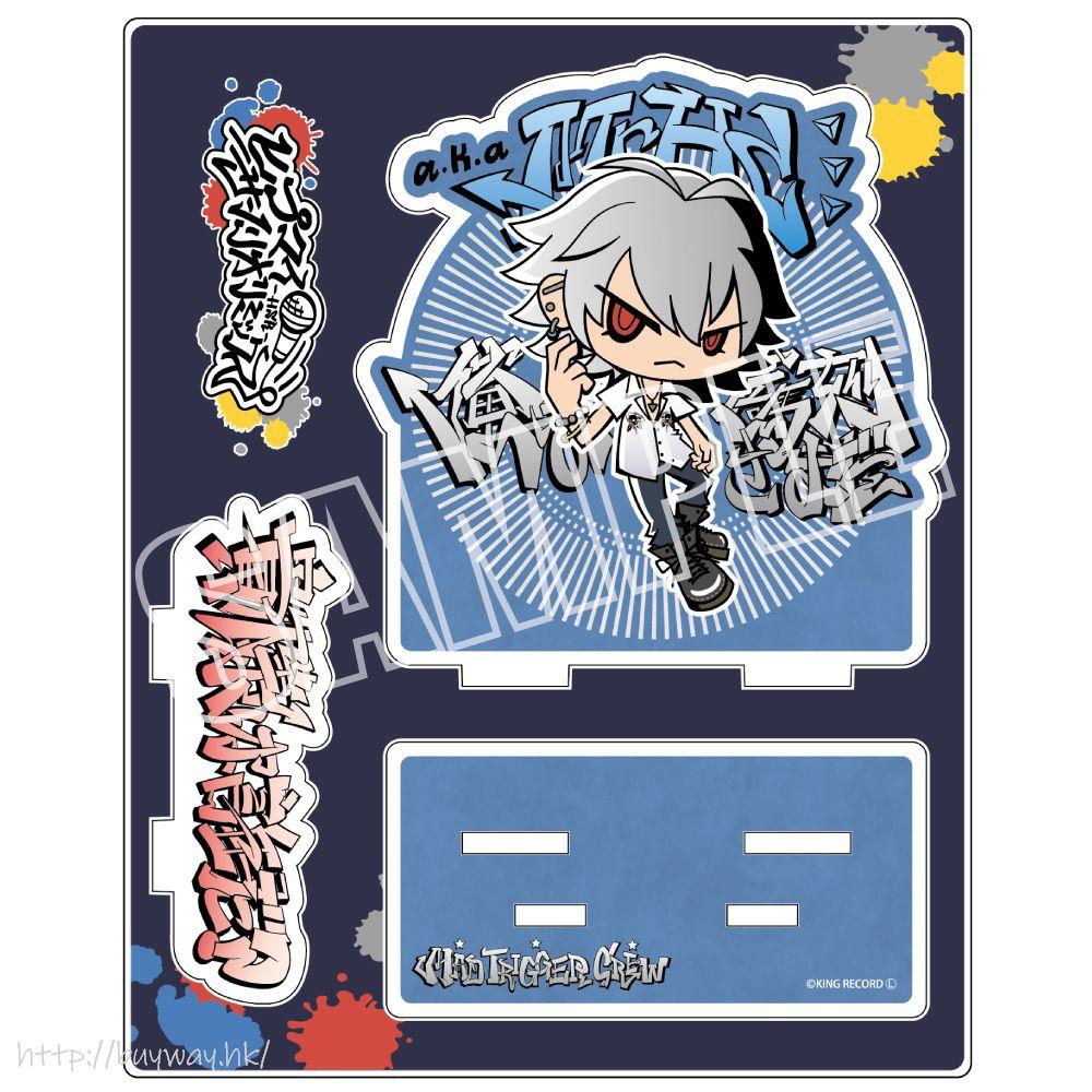 催眠麥克風 -Division Rap Battle- 「碧棺左馬刻」Hypmi Sanrio Remix 亞克力企牌 Hypmi Sanrio Remix Acrylic Stand Aohitsugi Samatoki【Hypnosismic】
