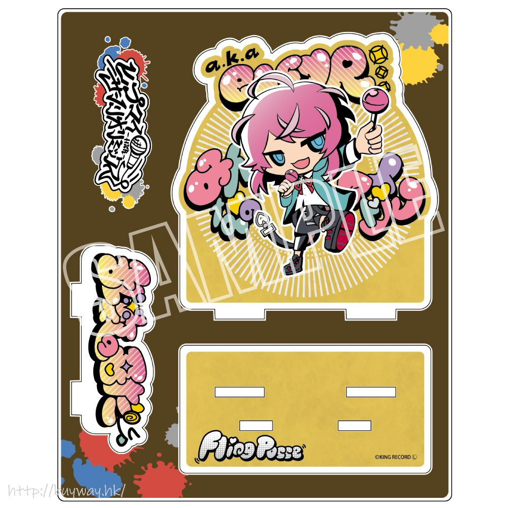 催眠麥克風 -Division Rap Battle- 「飴村乱数」Hypmi Sanrio Remix 亞克力企牌 Hypmi Sanrio Remix Acrylic Stand Amemura Ramuda【Hypnosismic】