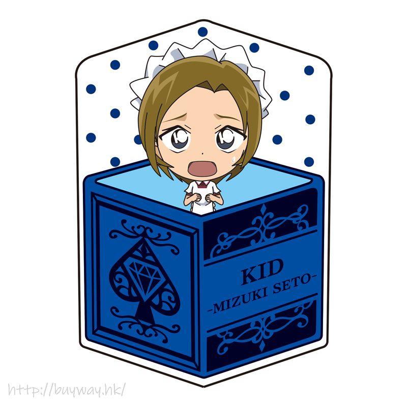 名偵探柯南 「怪盜基德」瀨戶瑞紀 甜心盒 Cushion Vol.6 Character Box Cushion Vol. 6 Kid Tracking Collection 5 Kaito Kid (Seto Mizuki)【Detective Conan】