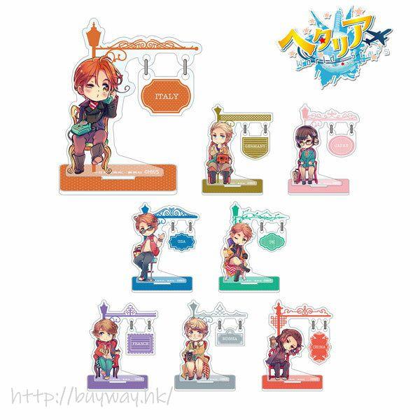 黑塔利亞 搖呀搖呀 亞克力企牌 (8 個入) YuraYura Sign Acrylic Stand (8 Pieces)【Hetalia】