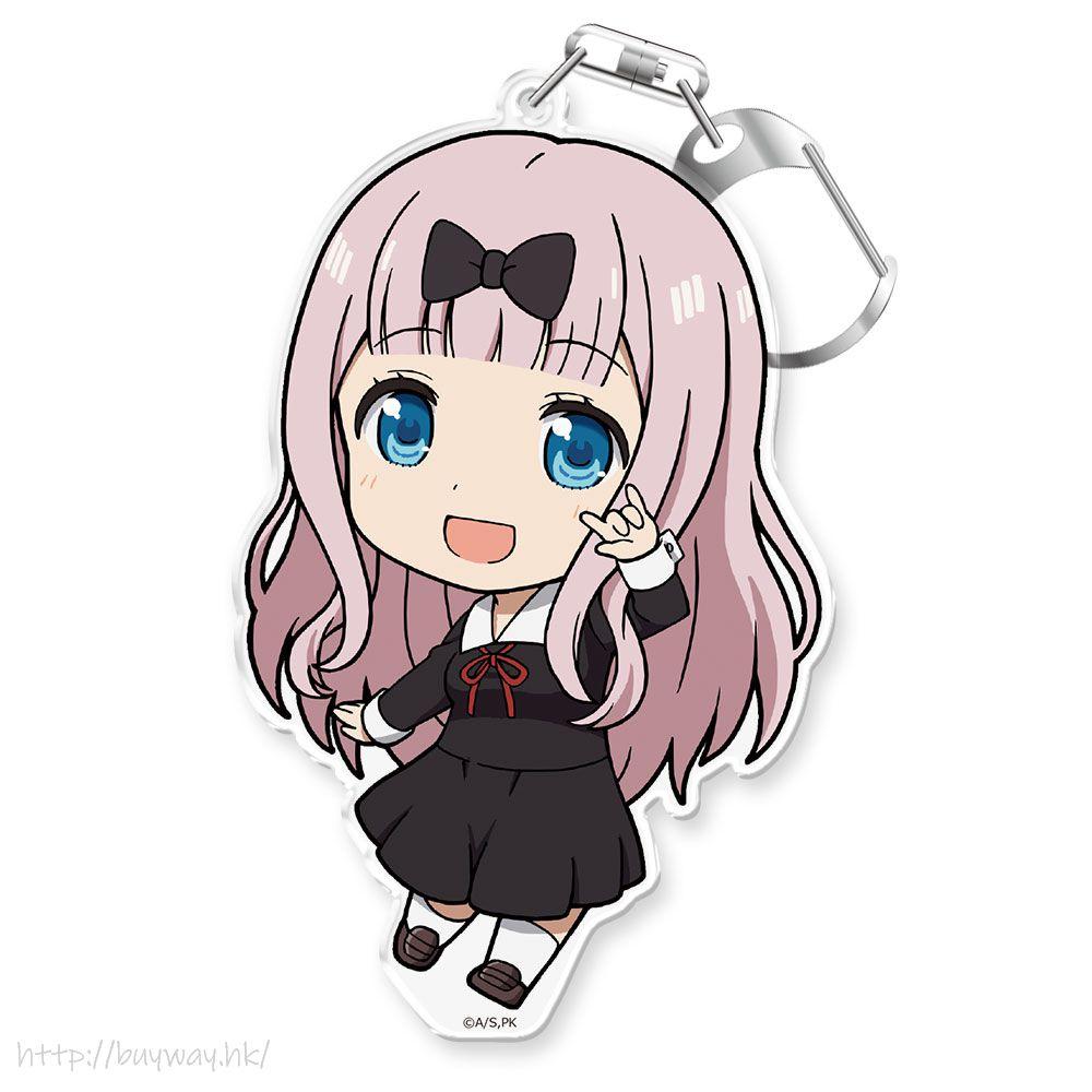 輝夜姬想讓人告白 「藤原千花」亞克力企牌 / 匙扣 Puni Colle! Key Chain with Stand Fujiwara Chika【Kaguya-sama: Love is War】