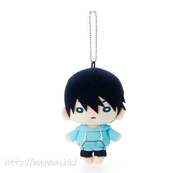 Free! 熱血自由式 「七瀬遙」豆豆眼 公仔掛飾 Nitotan Plush with Ball Chain Nanase Haruka【Free!】