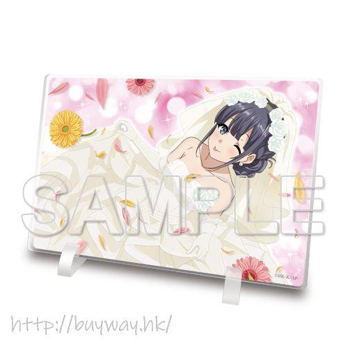 青春豬頭少年系列 「牧之原翔子」婚紗 亞克力企牌 Makinohara Shoko Acrylic Stand【Seishun Buta Yaro】