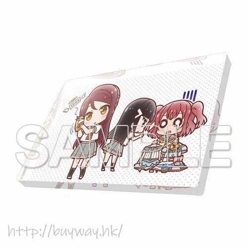 LoveLive! Sunshine!! 「櫻內梨子 + 黑澤妲雅 + 黑澤露比」Aqours 亞克力磁貼 Love Live! General Magazine Vol. 01 Acrylic Magnet Aqours Riko & Dia & Ruby【Love Live! Sunshine!!】