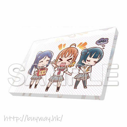 LoveLive! Sunshine!! 「高海千歌 + 松浦果南 + 津島善子」Aqours 亞克力磁貼 Love Live! General Magazine Vol. 01 Acrylic Magnet Aqours Chika & Kanan & Yoshiko【Love Live! Sunshine!!】