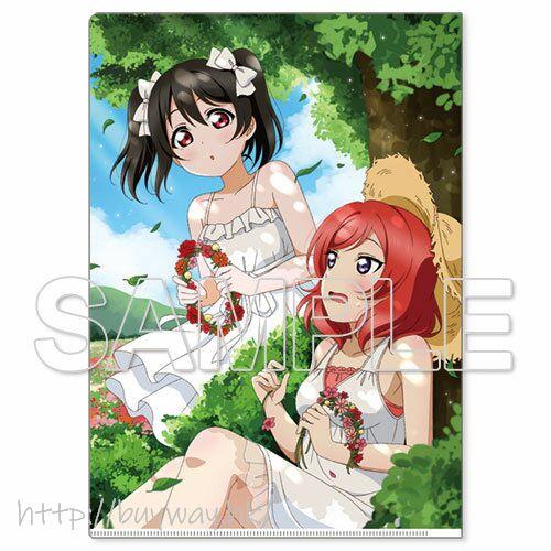 LoveLive! 明星學生妹 「西木野真姬 + 矢澤妮可」μ's A4 文件套 Love Live! General Magazine Vol. 01 Clear File μ's Maki & Nico【Love Live! School Idol Project】