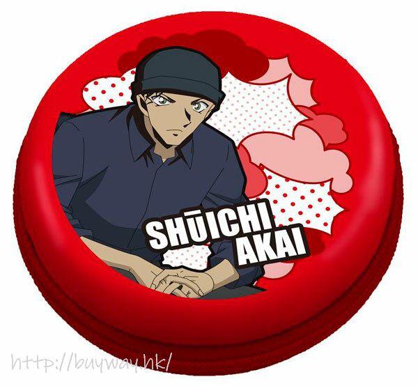 名偵探柯南 「赤井秀一」EVA 圓形耳機收納包  EVA Pouch Round (Shuichi Akai)【Detective Conan】