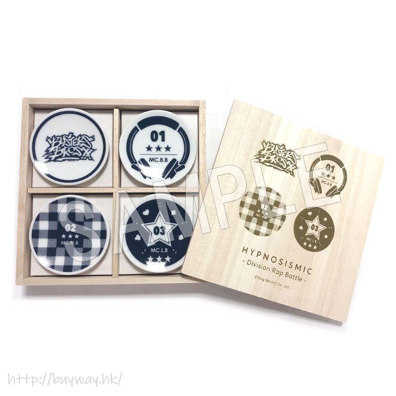 催眠麥克風 -Division Rap Battle- 「Buster Bros!!!」美濃燒 小碟子套裝 Mino Ware Small Dish Set Buster Bros!!!【Hypnosismic】