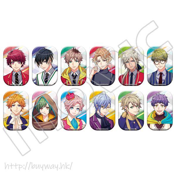A3! 「春組 + 夏組」第六回公演 圓角徽章 (12 個入)