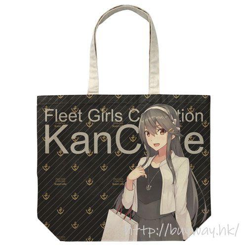 艦隊 Collection -艦Colle- 「榛名」Shopping mode 大容量 米白 袋子 Haruna Full Graphic Large Tote Bag Shopping mode/NATURAL【Kantai Collection -KanColle-】