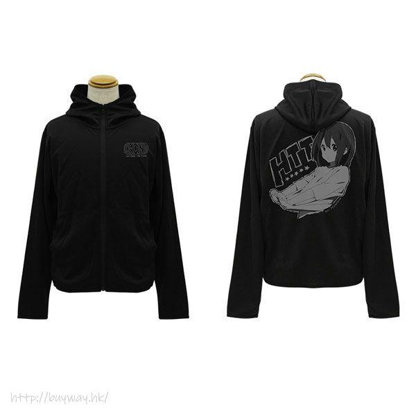 K-On!輕音少女 (中碼)「平澤唯」輕盈快乾 黑色 連帽衫 Yui Hirasawa Thin Dry Hoodie /BLACK-M【K-On!】