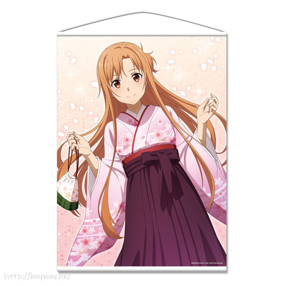 刀劍神域系列 「亞絲娜」和服 B1 掛布 B1 Tapestry Yuki Asuna【Sword Art Online Series】