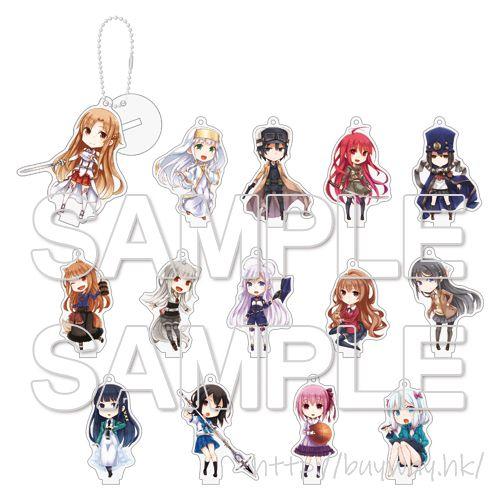 未分類 「電撃文庫」亞克力掛飾 (14 個入) Dengeki Bunko Acrylic Mascot (14 Pieces)