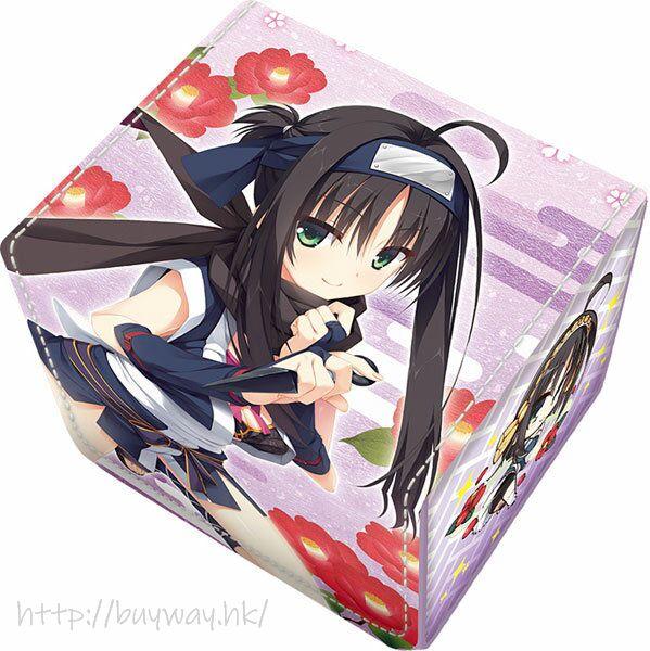 千戀萬花 「常陸茉子」皮革 珍藏咭收納盒 Synthetic Leather Deck Case Hitachi Mako【Senren Banka】