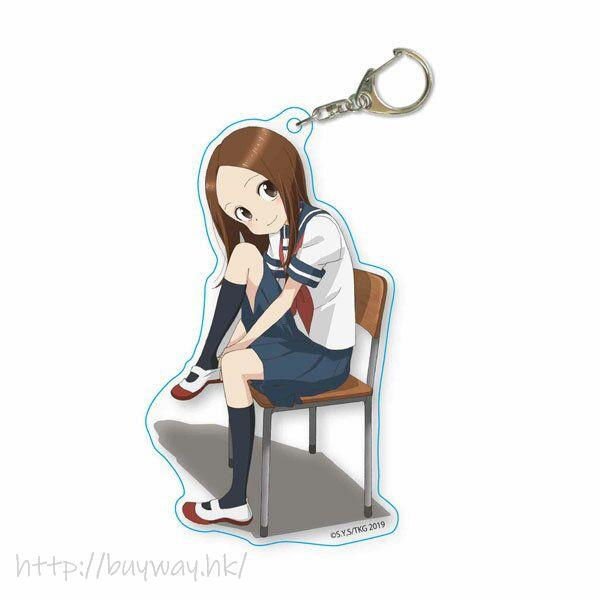 擅長捉弄人的高木同學 「高木」穿鞋子 亞克力匙扣 Choi Deka Acrylic Keychain 2 A【Karakai Jozu no Takagi-san】