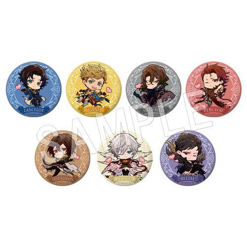 碧藍幻想 收藏徽章 Chu♡ Ver. (7 個入) Can Badge Chu series (7 Pieces)【Granblue Fantasy】