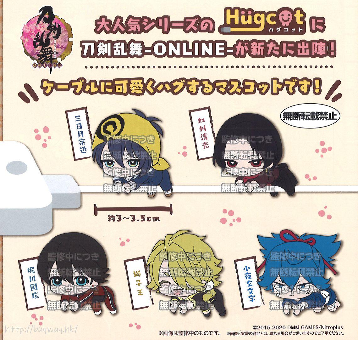 刀劍亂舞-ONLINE- Hugcot 傳輸線裝飾 扭蛋 (40 個入) Hugcot (40 Pieces)【Touken Ranbu -ONLINE-】