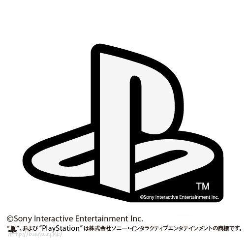 "PlayStation 防水貼紙 白色 Waterproof Sticker WHITE ""PlayStation""【PlayStation】"