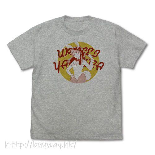 山T女福星 (加大)「阿琳」混合灰色 T-Shirt Bunny Girl Lum-chan T-Shirt /MIX GRAY-XL【Urusei Yatsura】