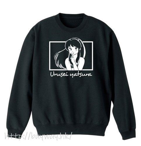 山T女福星 (大碼)「阿琳」長袖 黑色 T-Shirt Lum-chan Trainer/BLACK-L【Urusei Yatsura】