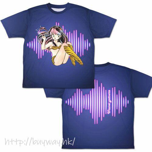 山T女福星 (大碼)「阿琳」雙面 全彩 T-Shirt Lum-chan Neon Pop Double-sided Full Graphic T-Shirt /L【Urusei Yatsura】