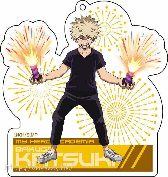 我的英雄學院 「爆豪勝己」放煙火 亞克力匙扣 Acrylic Key Chain 2 Bakugo Katsuki【My Hero Academia】