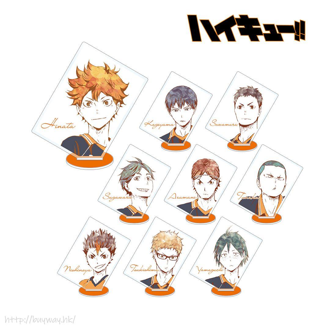 排球少年!! Ani-Art 亞克力企牌 Ver.A (9 個入) Ani-Art Acrylic Stand Ver. A (9 Pieces)【Haikyu!!】