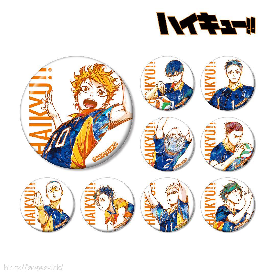 排球少年!! Ani-Art 收藏徽章 Vol.2 (9 個入) Ani-Art Can Badge Vol. 2 (9 Pieces)【Haikyu!!】